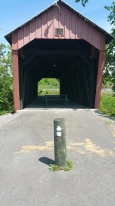 Beginning of North Bend Rail Trail on May 25